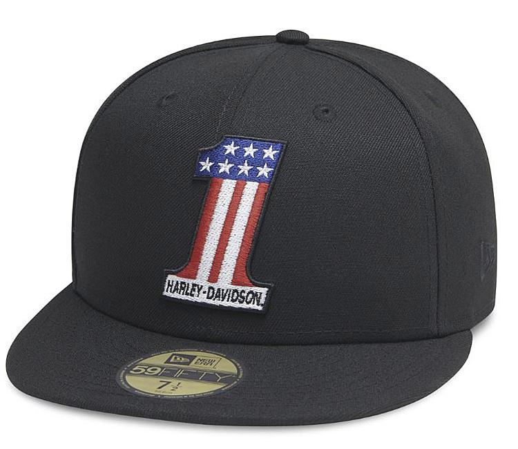 Harley-Davidson® Men's #1 Logo 59FIFTY® Baseball Cap | New Era®