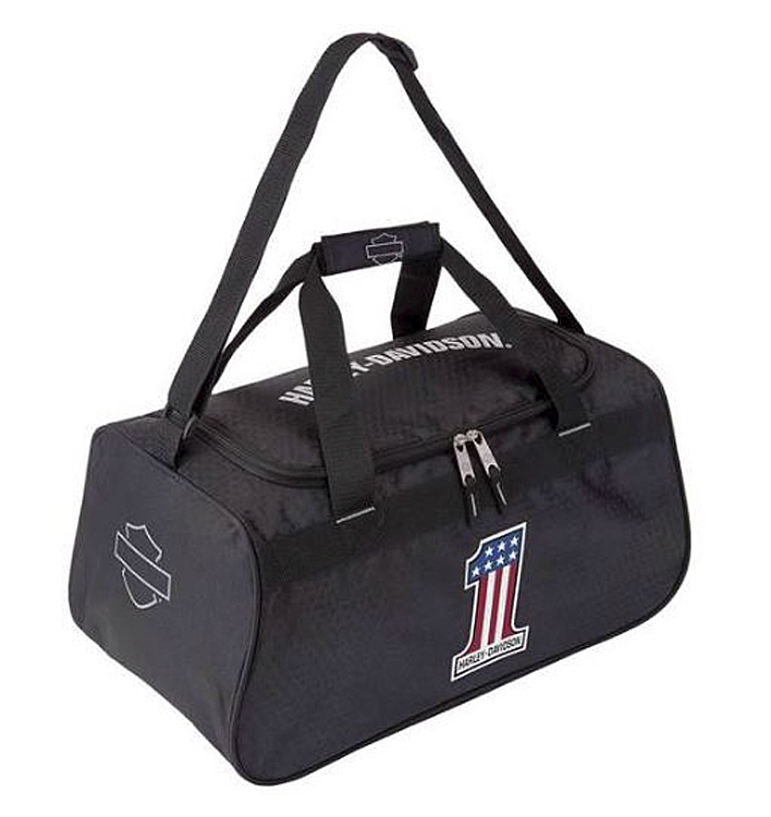 Harley-Davidson® #1 Logo Duffel Bag | Adjustable Strap