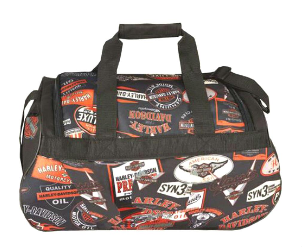 Harley-Davidson® Vintage Logo Sport Duffel Bag   Adjustable Strap