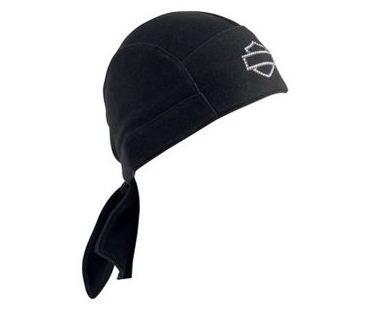 Harley-Davidson®  Women's Rhinestone Wing Skull Cap