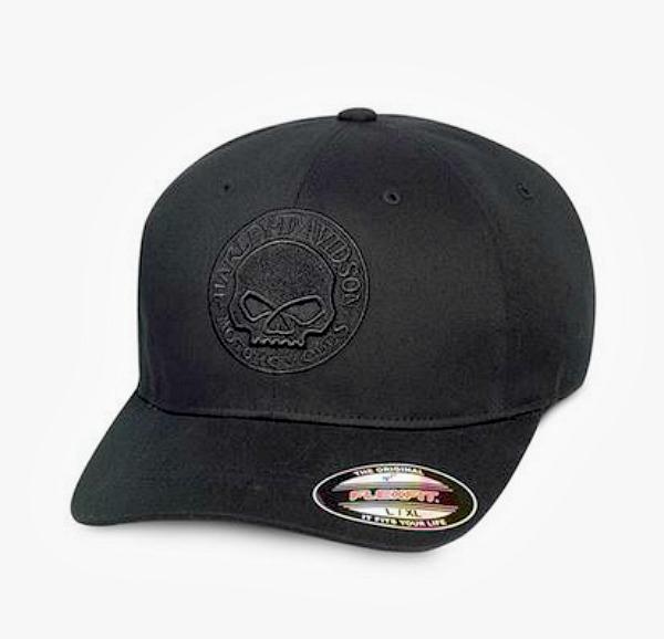 Harley-Davidson® Men's Skull Stretch Cap