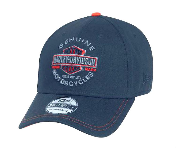 5d0c04337 Harley-Davidson® Men's Genuine Trademark 39THIRTY® Baseball Cap   New Era®