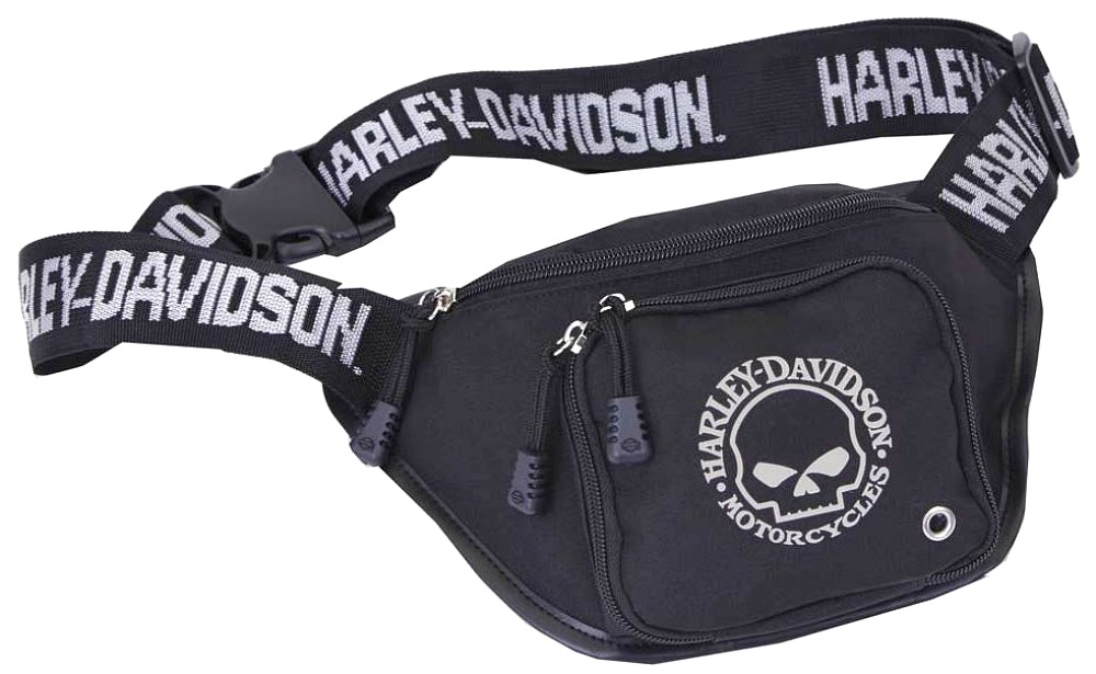 Harley-Davidson® Willie G® Skull Belt Bag | Water Resistant
