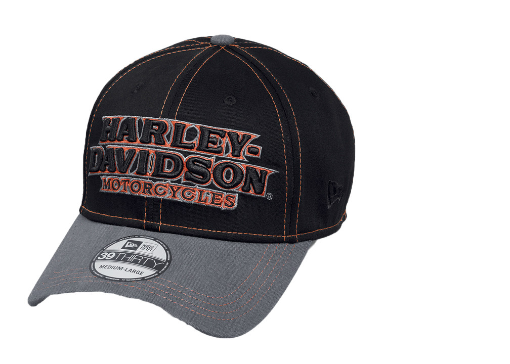 67a88d9c890bc Harley-Davidson® Men s Colorblock 39THIRTY® Baseball Cap ...