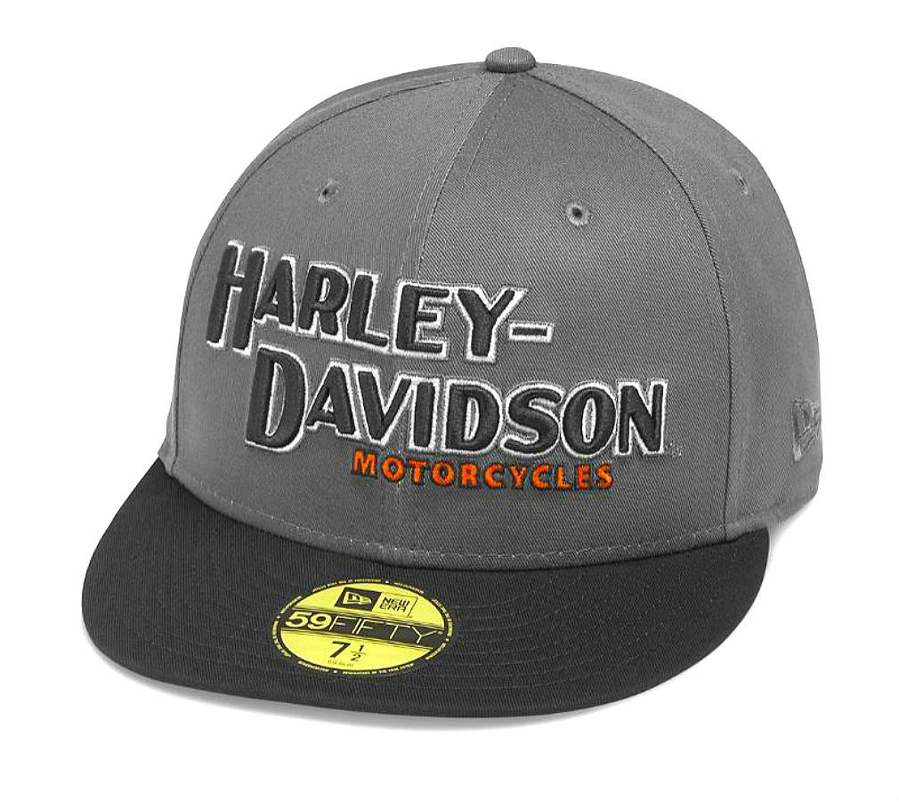 Harley-Davidson® Men's Iron Block 59FIFTY® Baseball Cap | New Era®