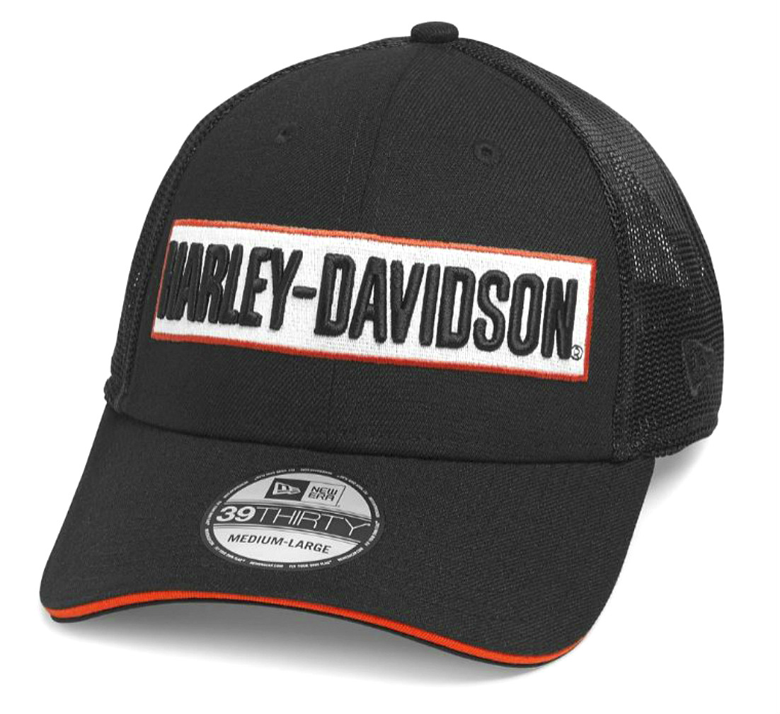 Harley-Davidson® Men's 39THIRTY® Trucker Cap | New Era®