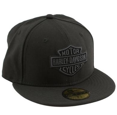 Harley-Davidson reg  Men s Tonal Bar   Shield reg  Logo 59FIFTY reg   Baseball Cap 8934b662f08