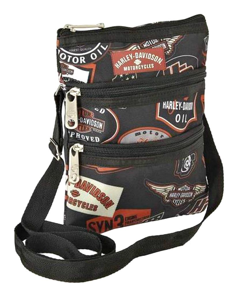 Harley-Davidson® Women's Vintage Print Crossbody Bag | Sling Bag | Hip Bag