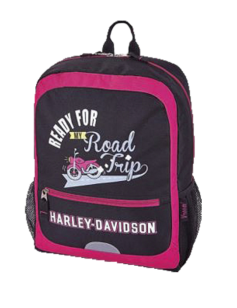 Harley-Davidson® Kids' Ready For My Road Trip Backpack