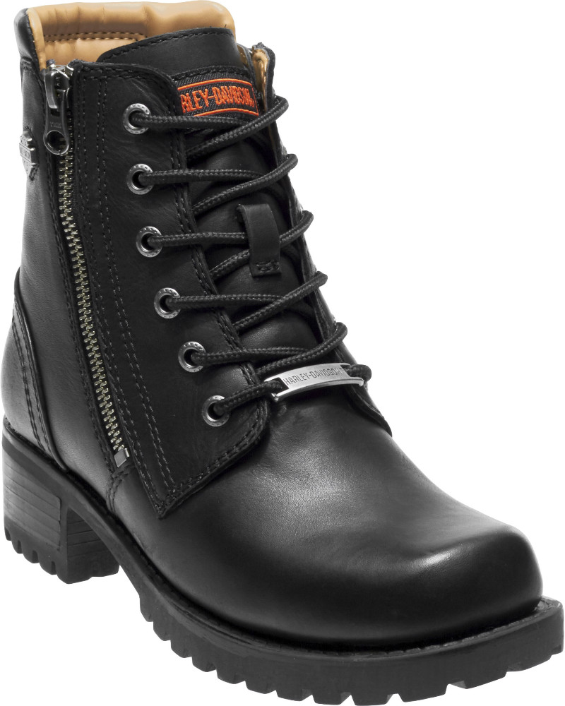 HARLEY-DAVIDSON® FOOTWEAR Women's Asher Lifestyle Boots | Dual Zippers