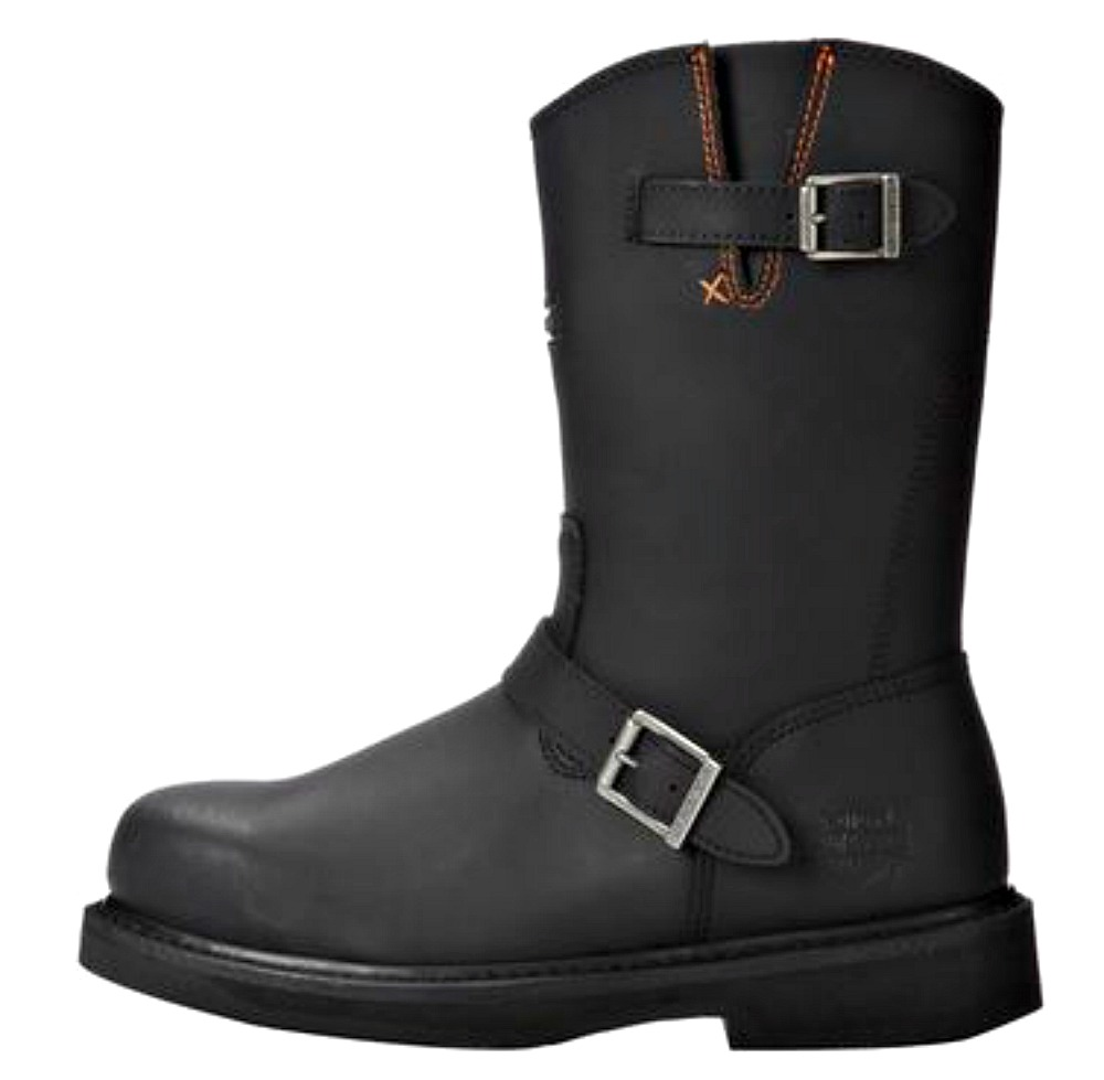 HARLEY-DAVIDSON® FOOTWEAR Men's Jason Leather Steel Toe   Safety Work Boots