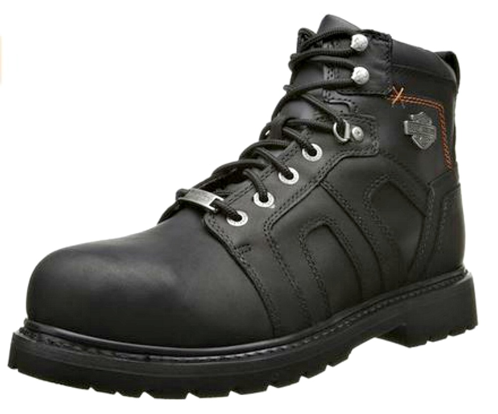 HARLEY-DAVIDSON® FOOTWEAR Men's Chad Leather Steel Toe | Safety Work Boots