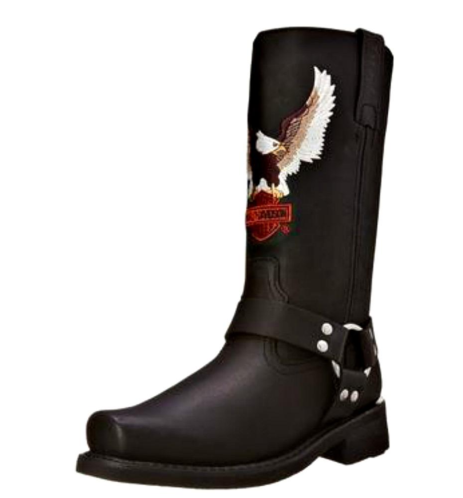 HARLEY-DAVIDSON® FOOTWEAR Men's Darren Leather Lifestyle Boots