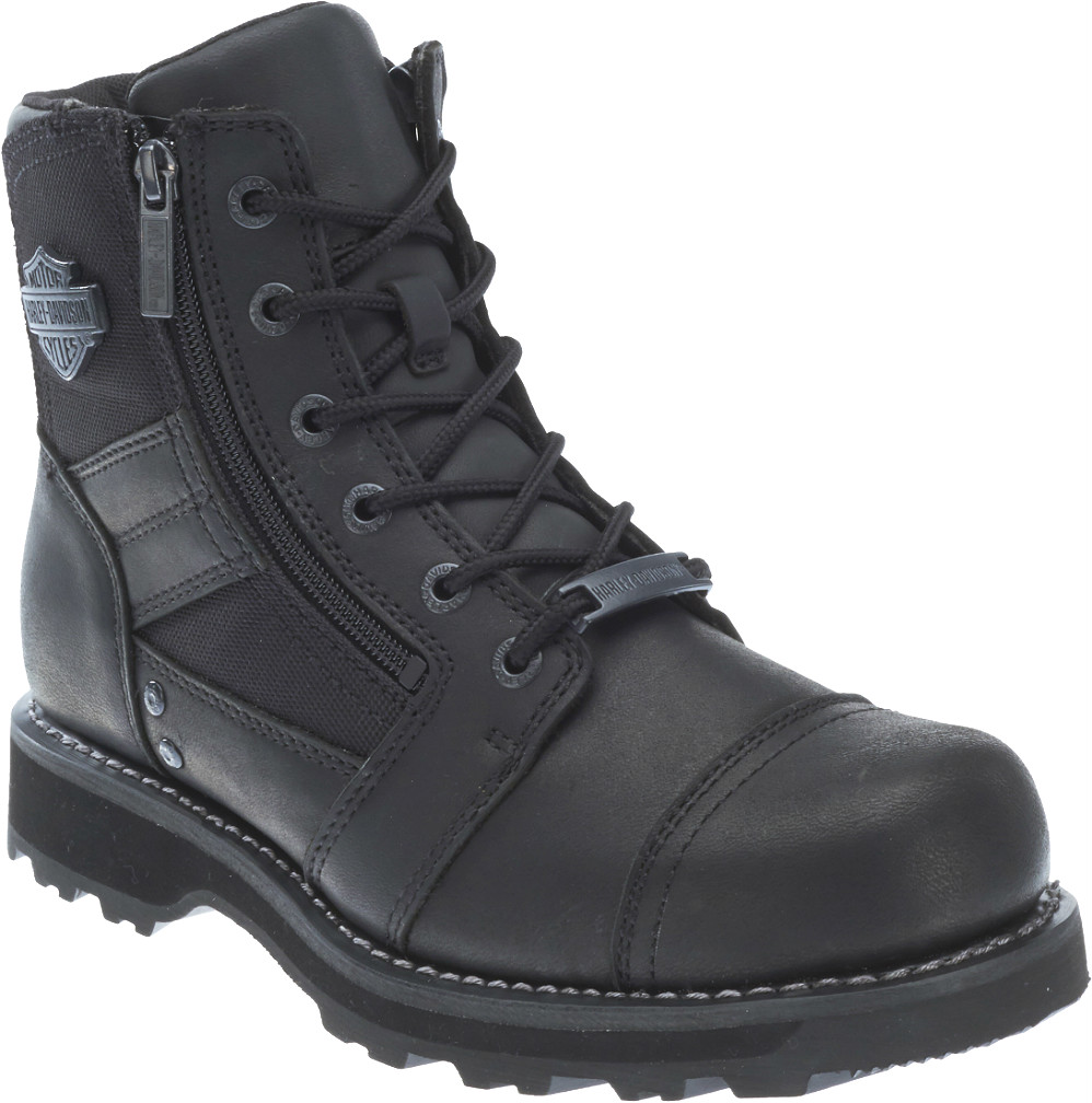 HARLEY-DAVIDSON® FOOTWEAR Men's Bonham Motorcycle Riding Boots | Quality Ventilation D93369