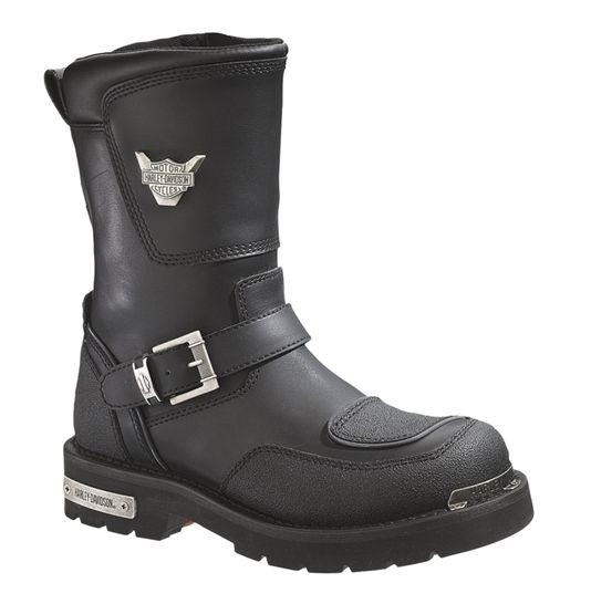 HARLEY-DAVIDSON® FOOTWEAR Men's Shift Motorcycle Riding Boots | TecTuff® Overlays