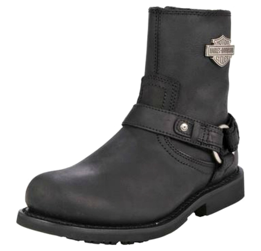 c9bb0b18c69a Harley-Davidson reg  Men s Scout Black Leather Lifestyle Boots D95262