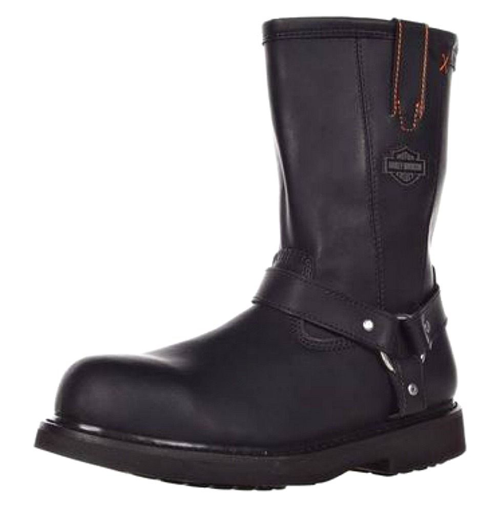 HARLEY-DAVIDSON® FOOTWEAR Men's Bill Leather Steel Toe | Safety Work Boots