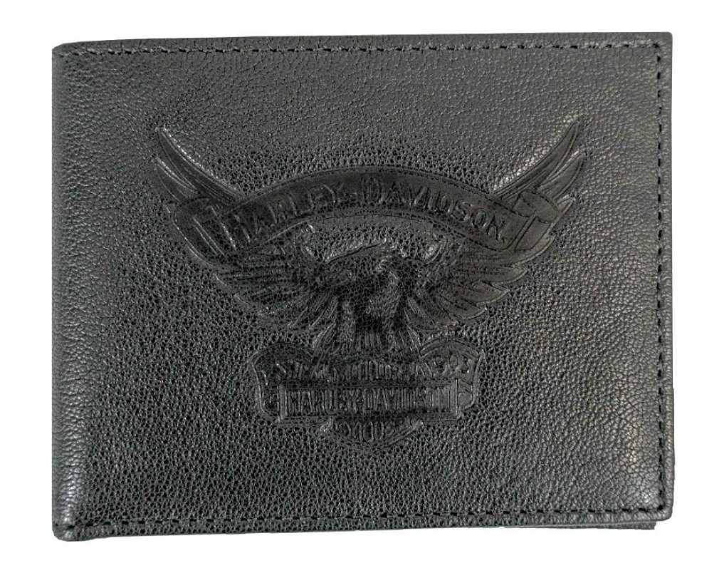 Harley-Davidson® Men's Billfold Wallet | Removable ID
