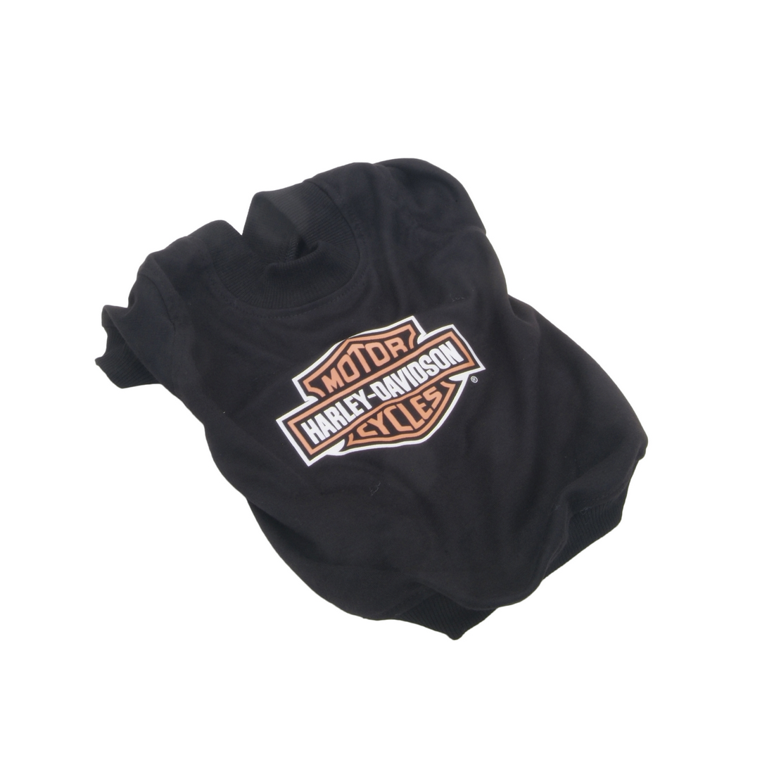 Harley-Davidson® Pet Dog Black T-Shirt w/ Bar & Shield on Back