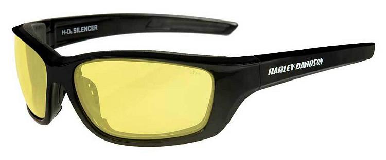 dc196a56edb1 Harley-Davidson® Men's Wiley-X® Silencer Sunglasses | Yellow Lenses  | Gloss
