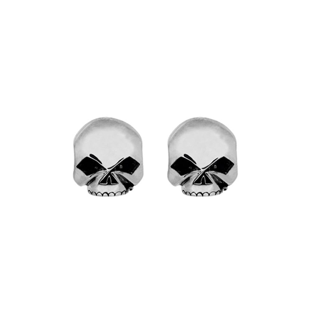 Harley-Davidson® Women's Skull Post Earrings
