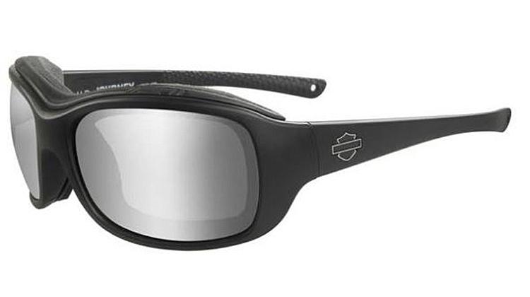 Harley-Davidson® Women's Wiley X® Journey Sunglasses | PPZ™ Smoke Grey Lenses Lenses | Matte Black Frame