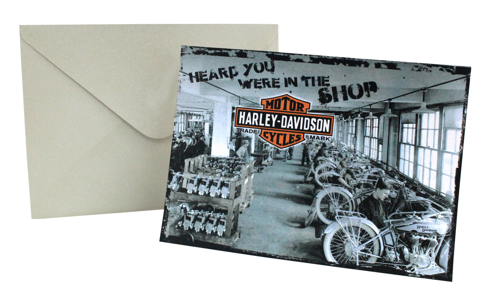 Harley Davidson Get Well Card In The Shop Hdl 20014