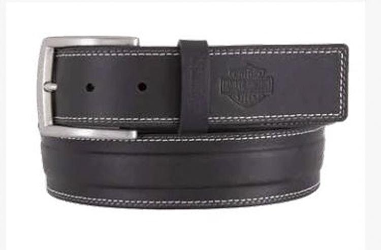 Harley-Davidson® Men's One Lane Belt | Accent Top Stitching