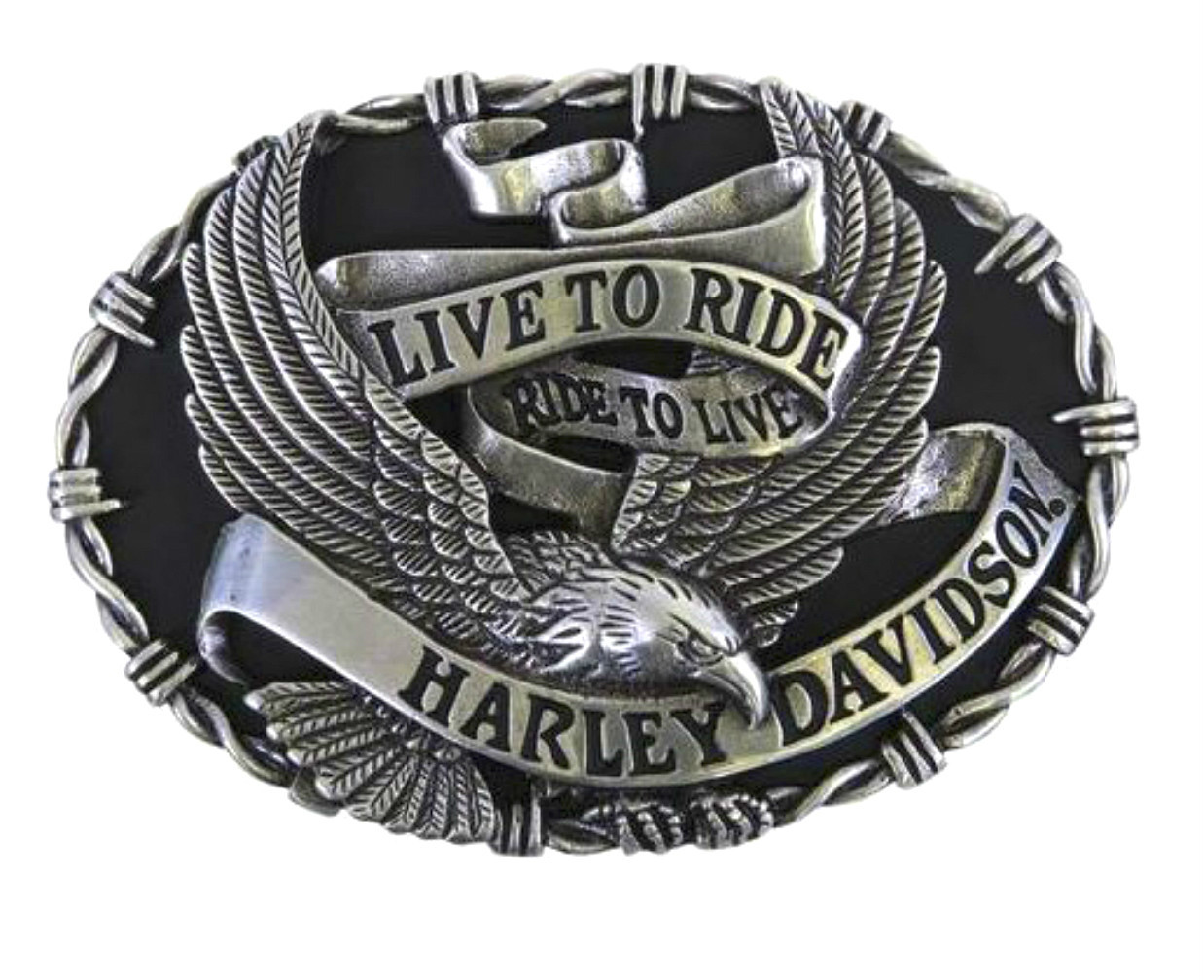 Harley-Davidson® Men's Breezer Belt Buckle | Live to Ride