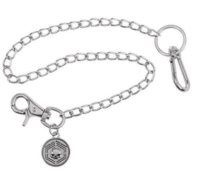 "Harley-Davidson® Men's Caged In Wallet Chain | 23"" Chain"