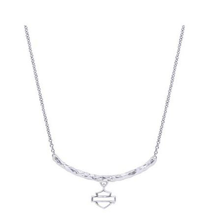 Harley-Davidson® Women's Delicate Bar & Shield® Necklace