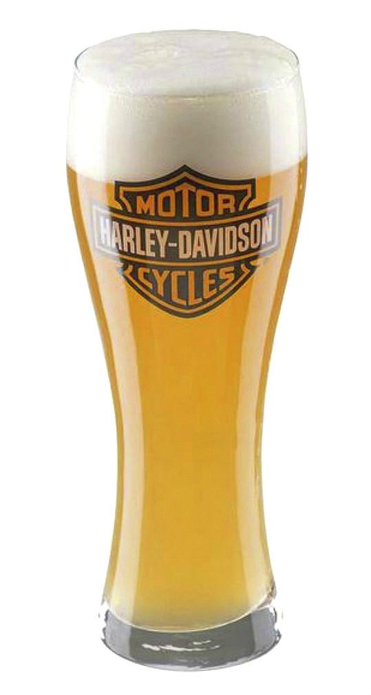 Harley-Davidson® Bar & Shield® Pilsner Glass