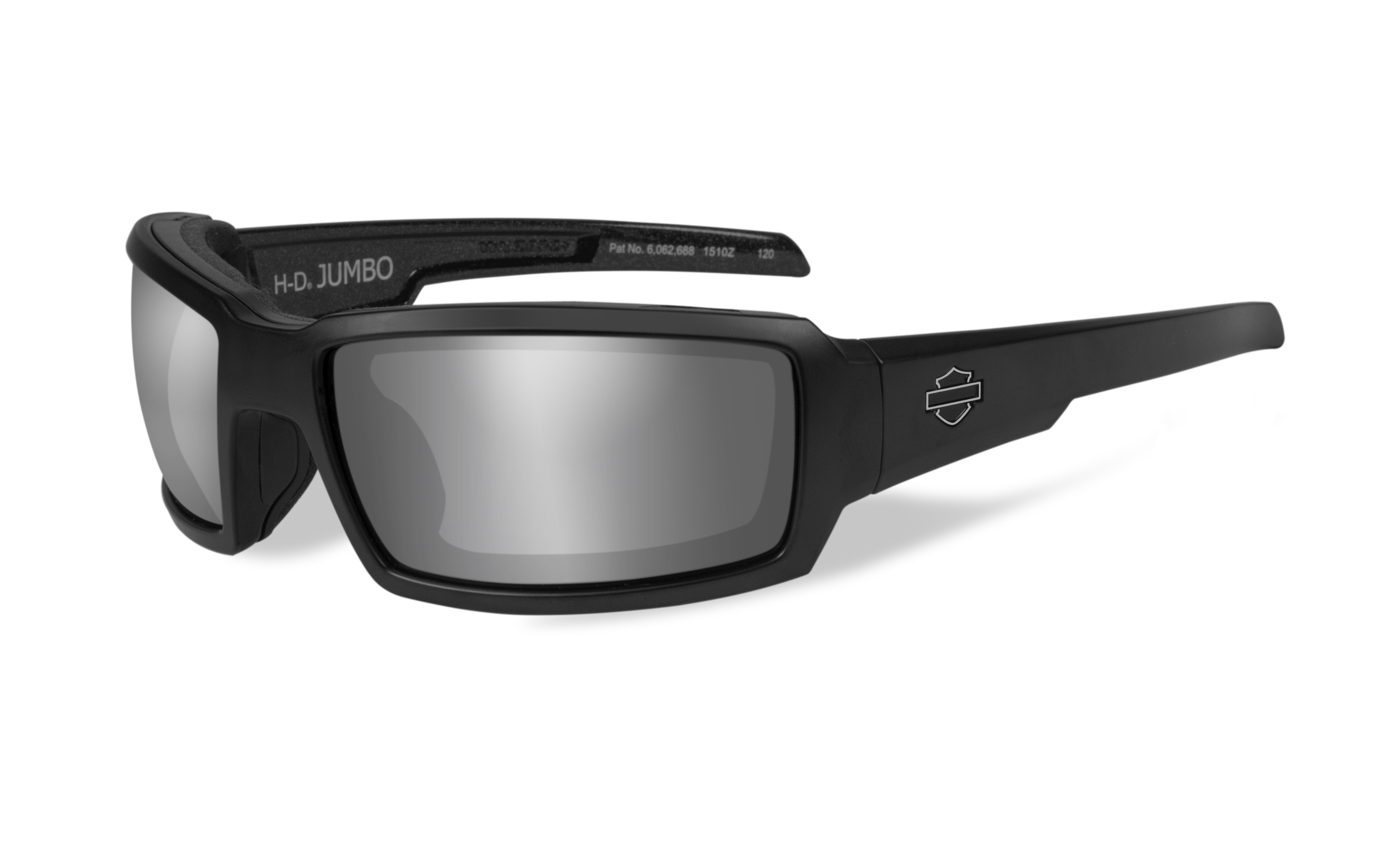 95175d6a54 Harley-Davidson® Wiley-X® Jumbo Sunglasses with Silver Flash Lens ...