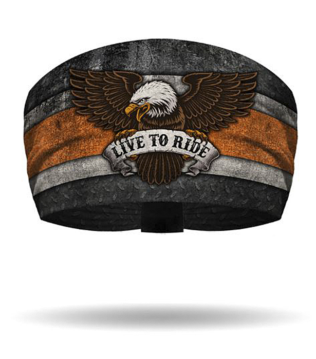 That's A Wrap!® Women's Eagle Knotty Band™ Head Wrap | Live To Ride