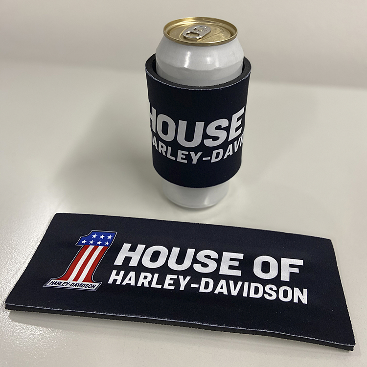 House of Harley-Davidson® #1 Logo Can Koozie | Neoprene