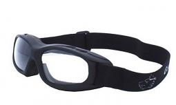 Guard-Dogs® Evader 1 Changers Motorcycle Goggles | Change from Clear to Dark Grey Lens | Fit Over Eyeglasses