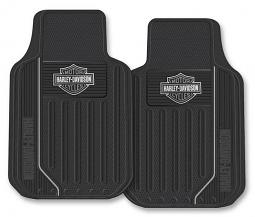 Harley-Davidson® Black Bar & Shield® Floor Mats
