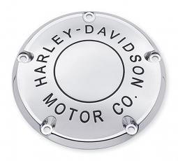 Harley-Davidson® H-D Motor Co. Chrome Derby Cover