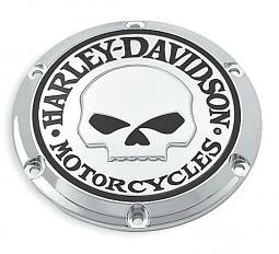 Harley-Davidson® Willie G® Skull Chrome Collection | Derby Cover | '04-Later Sportster® XL & XR Models