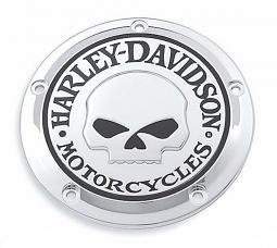Harley-Davidson® Willie G® Skull Chrome Collection | Derby Cover