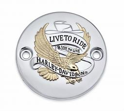 Harley-Davidson® Timer Cover | Milwaukee Eight | Live to Ride