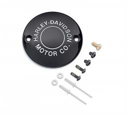 Harley-Davidson® H-D Motor Co. Black Collection | Timer Cover Kit | '04-Later Sportster® XL & XR  Models