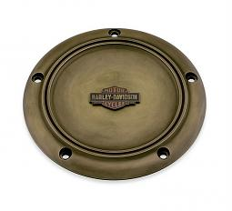 Harley-Davidson® Brass Collection | Derby Cover | '06-17 Dyna®, '07-18 Softail® & '07-15 Touring & Trike