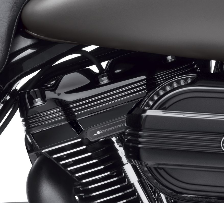 Harley-Davidson® Defiance Upper Rocker Covers | Black