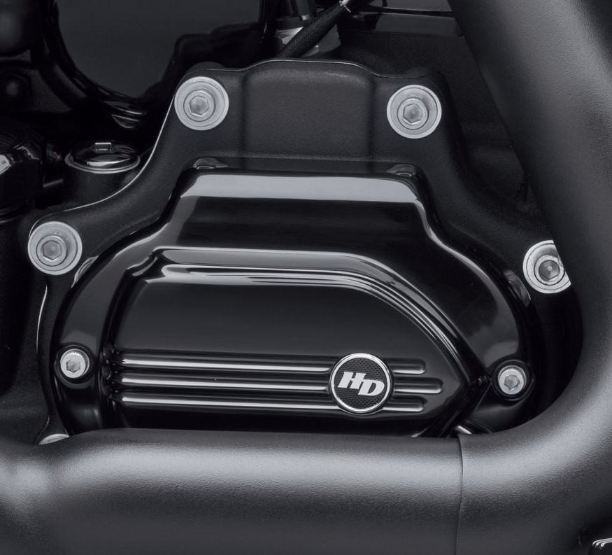 Harley-Davidson® Defiance Transmission Side Cover | Black