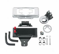 Harley-Davidson® Premium Oil Cooler Kit - Dyna® - Horizontal Mount