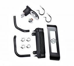Harley-Davidson® Premium Oil Cooler Kit - '11-later Softail® - Side Mount