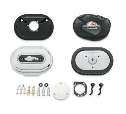 Harley-Davidson® Ventilator Performance Air Cleaner Kit | Screamin' Eagle® | Chrome