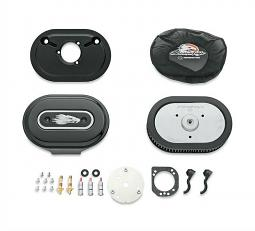 Harley-Davidson® Ventilator Performance Air Cleaner Kit | Screamin' Eagle® | Gloss Black