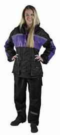 Castle Women's Legacy Rain Suit | High Vis Purple